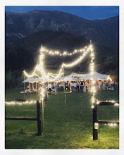 Photo: Gourmet wedding picnic style with a food truck