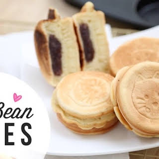 How to Make Red Bean Cakes (紅豆餅) | Red Bean Dessert.