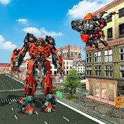 Spider Robot Transformation Game: Real Robot Games