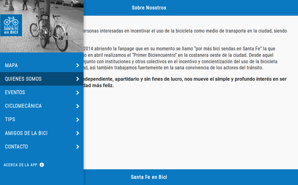Santa Fe en Bici- screenshot