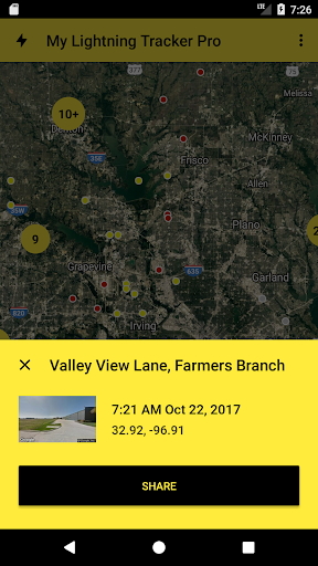 Download My Lightning Tracker Pro - Live Thunderstorm Map For PC 1