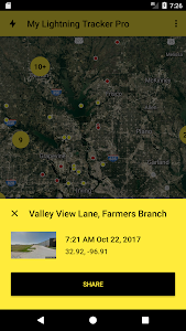 My Lightning Tracker Pro - Live Thunderstorm Map 2.3.3.1 (Paid)