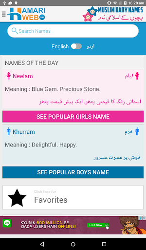 Muslim Baby Names & Meanings Islamic Boys & Girls 2.3 Apk for Android 18
