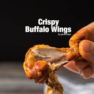 Crispy Buffalo Wings.