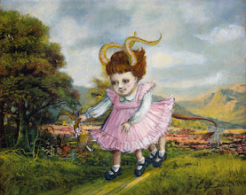 Photo: The Odd Toddler 10 x 8 avail.  Can you imagine anything more frightening than a toddler with four legs? Those extra appendages make her pretty fast for maximum damage.  Available from the alterationist