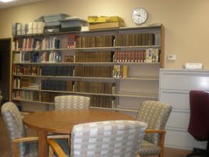 Photo: at the Talladega Public Library - genealogy room