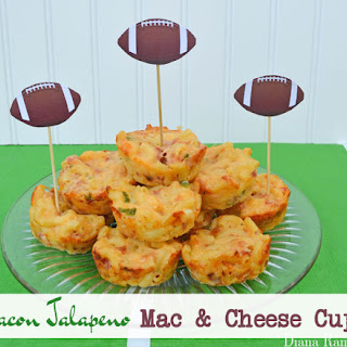 Bacon Jalapeno Mac and Cheese Cups