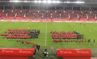 El Almería-Real Sociedad B, desde la grada