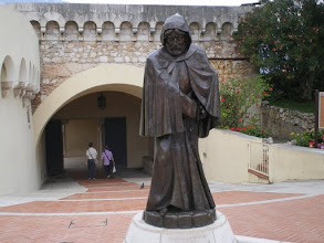 Photo: The Grimaldi familly took control of Monaco when an ancestor, disguised as a Monk, captured the port.