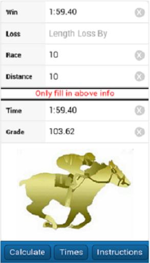 Horse Race Calculator