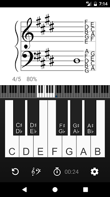 Vivace: Learn to Read Music - screenshot