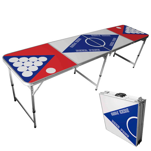 Billigt Beer Pong Bord (USA-design)