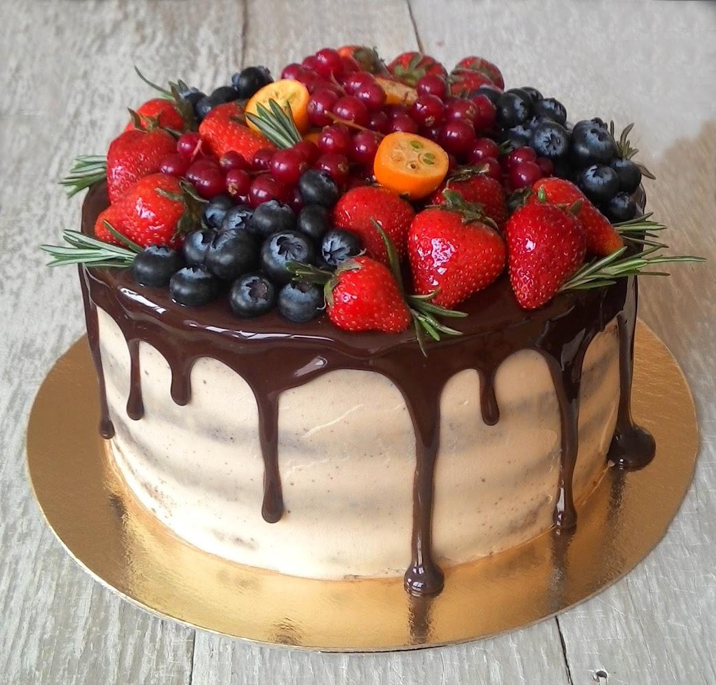 Картинки торт фруктами практика пристальное