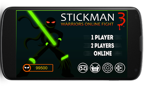 Stickman Warriors 3 Online - náhled