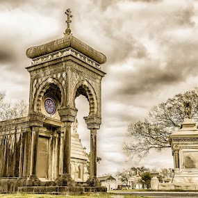 I Dream in Technicolor by Shaun Poston - Buildings & Architecture Public & Historical ( rip, metairie, tombs, cemetery, deceased, architecture )