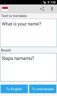 App Indonesian English Translator APK for Windows Phone