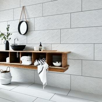 Gạch ốp tường cho nhà vệ sinh mang lại sự sạch sẽ