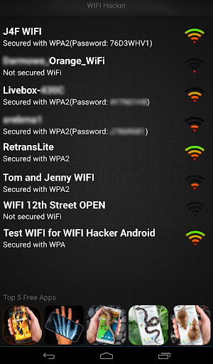 WIFI Hacker Professional (prank) - screenshot