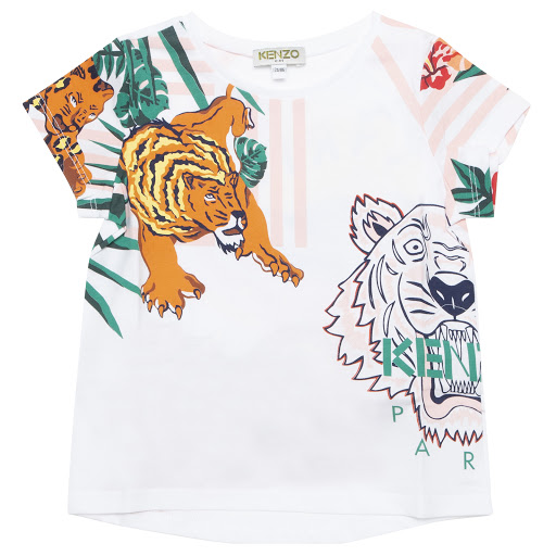 Primary image of Kenzo White Faustine T-shirt