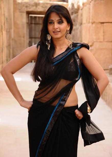 Anushka Shetty thoppul, Anushka Shetty navel