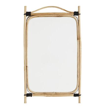 Spegel med bamburam