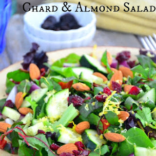 Cranberry, Swiss Chard & Almond Salad and What Success Means To Me