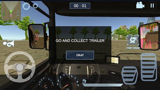 Realistic Truck Simulator - New City 1.0 screenshots 2