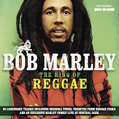 Bob Marley - The King Of Reggae (89 legendary tracks including original tunes, tributes from reggae stars and an exclusive Marley family live at Central Park)