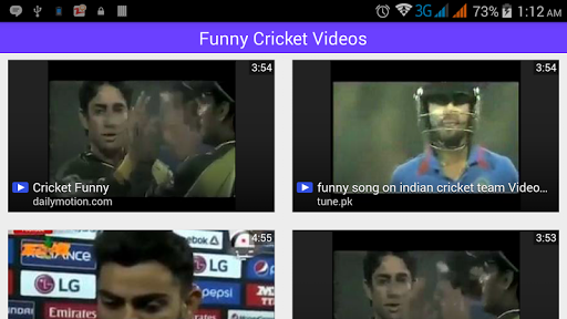 Funny Cricket Videos