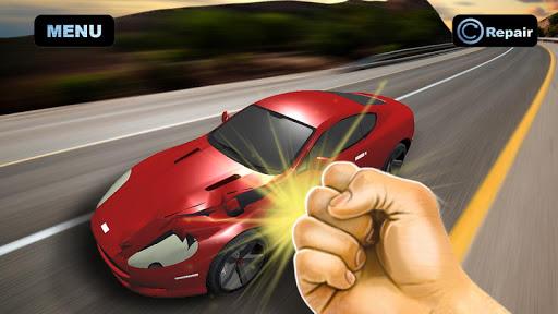 Simulator Crush Sport Car