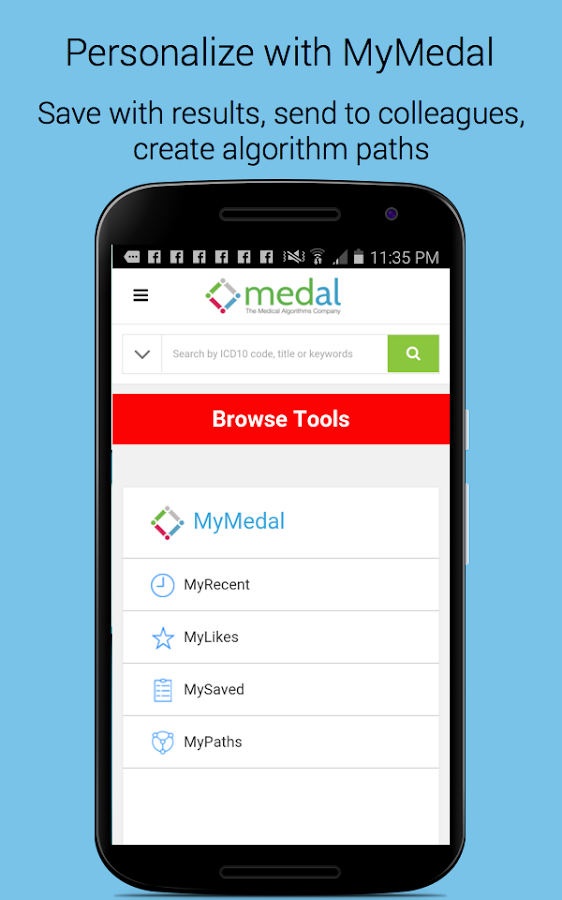 Medical Calculators - Medal- screenshot