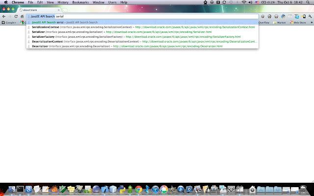 JavaEE API Search