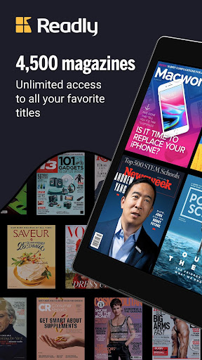 Readly - Unlimited Magazine Reading 4.9.4 Screenshots 7