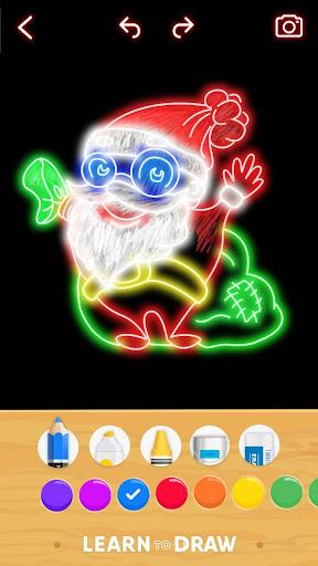 Draw Glow Christmas 2020 screenshots 8