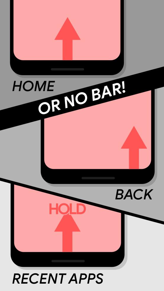 Navigation Gestures - Swipe Gesture Controls! Screenshot 2