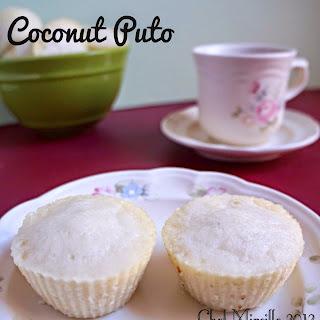 Coconut Puto