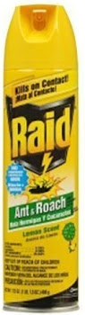 Raid Ant & Roach Killer Insecticide Spray - Lemon, 17.5oz