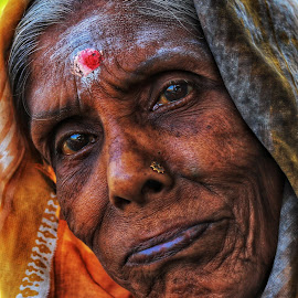 Old is gold  by Tharmapalan Tilaxan - People Portraits of Women ( #photography #portrait )