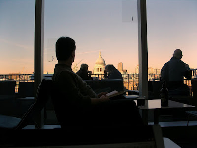 View from the Tate Modern café