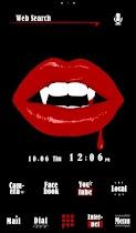 Vampire Lips Free Theme - screenshot thumbnail 01