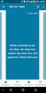 App Zitate, Sinnsprüche - Zitag dein tägliches Zitat APK for Windows Phone