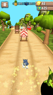 Tom Running Jungle Rush - náhled