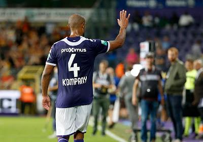 """Kompany s'estime fautif dans la défaite d'Anderlecht : """"C'est ma responsabilité"""""""