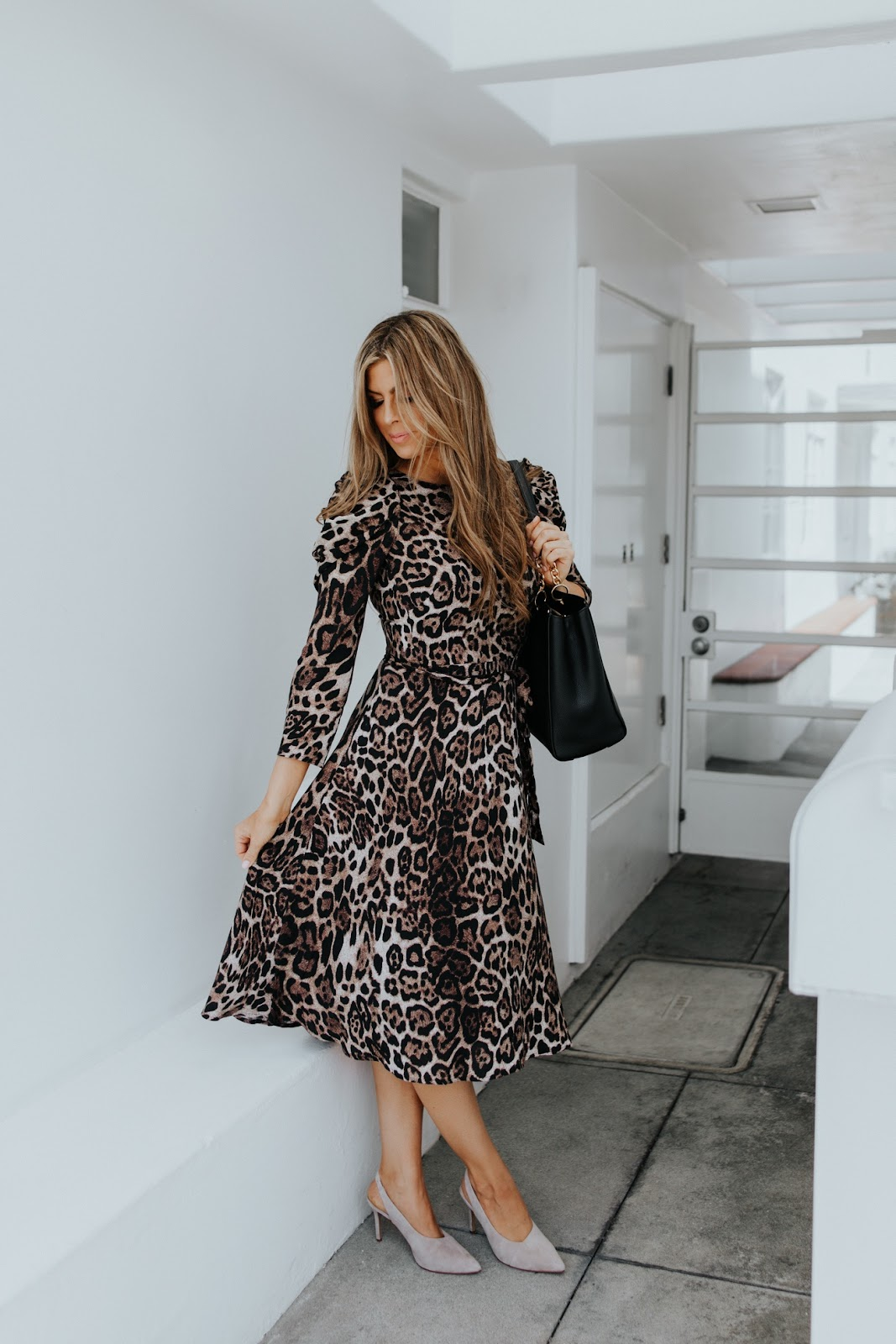 leopard dress nordstrom