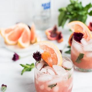 Pink Grapefruit Sangria Cocktail Recipe