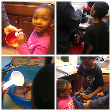 Photo: Making brownies!