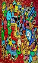 Doodle Art Kertas Dinding - screenshot thumbnail 04