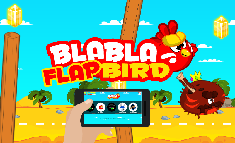 BlablaFlapBird- screenshot