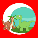 Memory-Spiele Dinosaurier icon