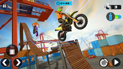 Tricky Bike Stunt Race 3d Racing - New Bike Games 2.0 screenshots 1